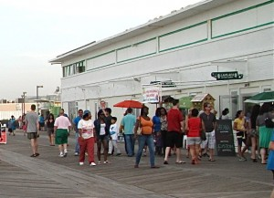 Asbury Park boardwalk has  weathered many ups and downs