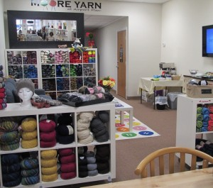 The Color and Creative Atmosphere at Moore Yarn in Hazlet