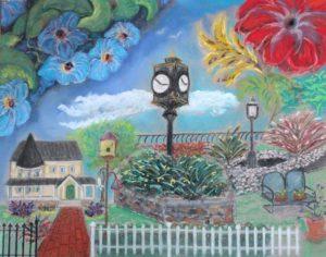Artwork by 2018 Keyport GardenWalk Art Contest winner Billy Green